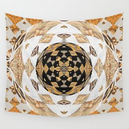 Not Your Grandma's Quilt: #Soverignty2020 #innerstanding Sri Yantra Sacred Geometry Dope Boho Quilt! Wall Tapestry