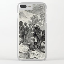 The Transit of Venus: Captain Orde Brown's Party ascending the heights near Cairo Clear iPhone Case