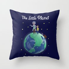The Little Planet Throw Pillow