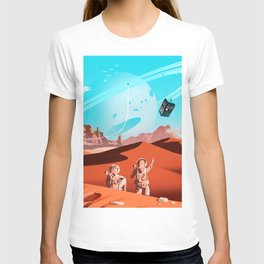 tardis space T-shirt
