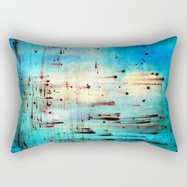 Blowing Dots (2) Rectangular Pillow