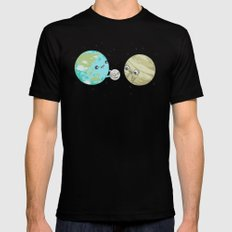 I'd Give you the Moon 2X-LARGE Black Mens Fitted Tee