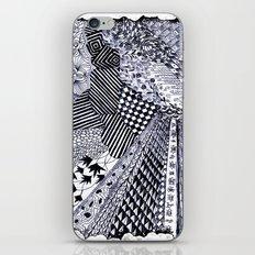 Zentangle 01 iPhone & iPod Skin