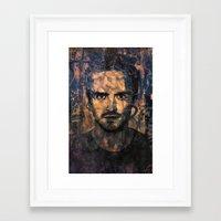 jesse pinkman Framed Art Prints featuring Jesse Pinkman by Sirenphotos