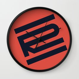 R from 36 Days of Type | 2016 Wall Clock