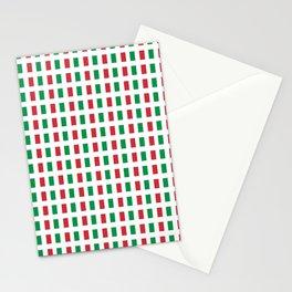 flag of Italia- Italy,Italia,Italian,Latine,Roma,venezia,venice,mediterreanean,Genoa,firenze Stationery Cards