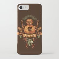 army iPhone & iPod Cases featuring Royal Army by Hillary White