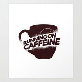 Cunning On Caffeine Art Print