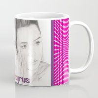 miley Mugs featuring miley vs. miley by als3