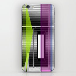 Architectural Stripes iPhone Skin