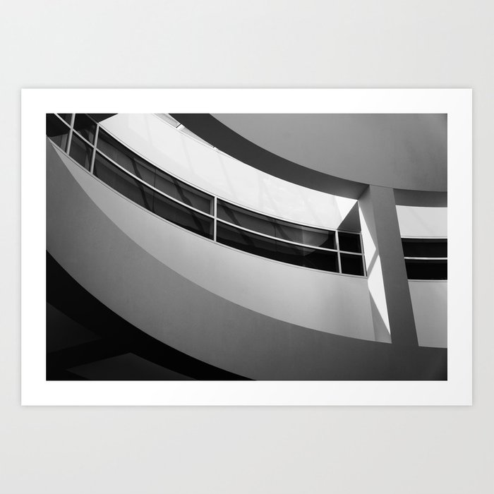 Getty Abstract No.2 Art Print