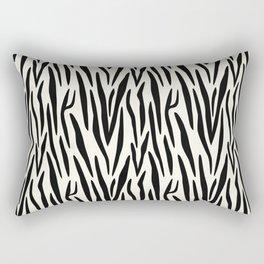 Zebra 1 Rectangular Pillow