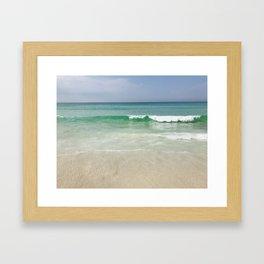 Emerald Coast Framed Art Print