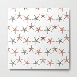 Fishtales: Starfish 5 pattern 1 Metal Print