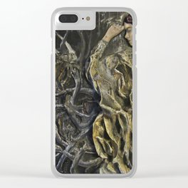 Cloak of the Dead Clear iPhone Case
