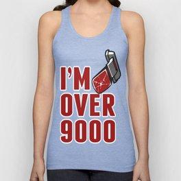 I'm Over 9000 Unisex Tank Top