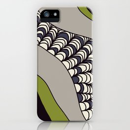 Green Rolled iPhone Case