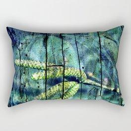 ARCHAIC BLUE DREAM Rectangular Pillow