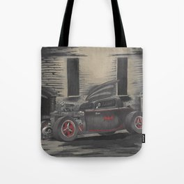 Hot Rod Batmobile  Tote Bag