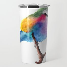 The Lilac-breasted Roller Travel Mug