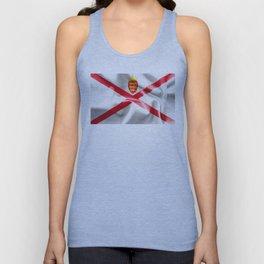 Jersey Flag Unisex Tank Top