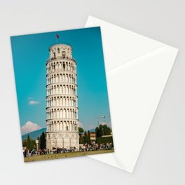 Turquoise Pisa Stationery Cards