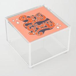 Stay Groovy Acrylic Box