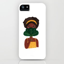 Kale Fan iPhone Case