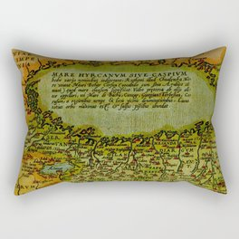 Caspian sea 1570 Rectangular Pillow