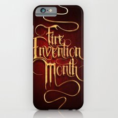 Fire Invention Month iPhone 6s Slim Case