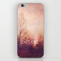 explore iPhone & iPod Skins featuring explore by Sylvia Cook Photography
