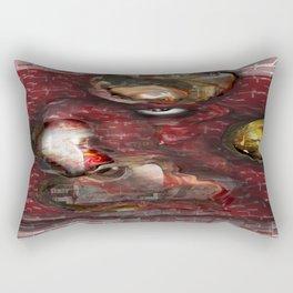 FireHouse red Rectangular Pillow