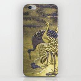 Golden Birds iPhone Skin