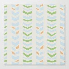 Chevron pale Canvas Print