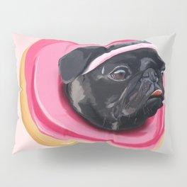 Pug Donut Gym Pillow Sham