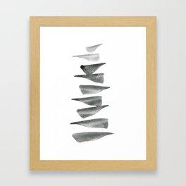 Balance (10) Framed Art Print