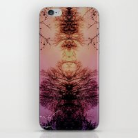 planet of the apes iPhone & iPod Skins featuring apes by Scarlet Jenkins