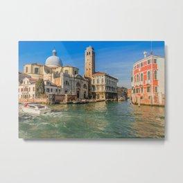 San Jeremy Venice Metal Print