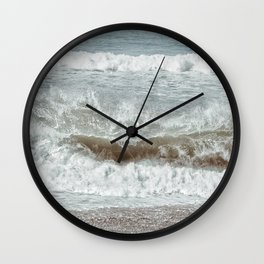 Earth Wind and Sand Wall Clock