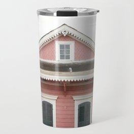 Pink House in Nola Travel Mug