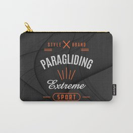 Paragliding Extreme Sport Carry-All Pouch