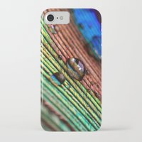 peacock feather iPhone & iPod Cases featuring peacock feather by Falko Follert Art-FF77