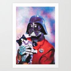 Vader for president! Art Print