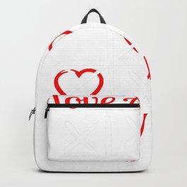 Vintage Valentines Day Love Always Wins Tic Tac Toe Backpack