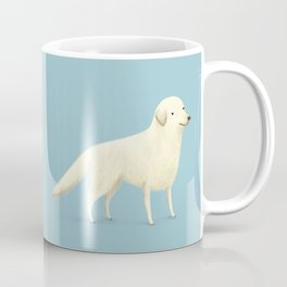 Golden Retriever Portrait Coffee Mug