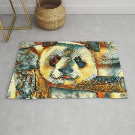 AnimalArt_Panda_20180101_by_JAMColors Rug