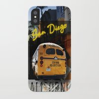 san diego iPhone & iPod Cases featuring SAN DIEGO by MFY ★ design lab