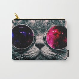sunglasses cat Carry-All Pouch