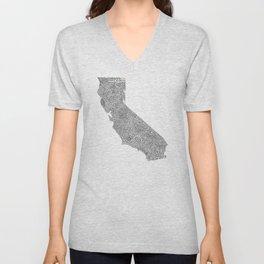 State Secrets - California Unisex V-Neck