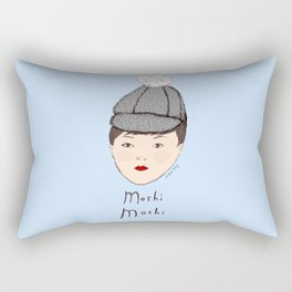 Moshi Moshi - Blue Rectangular Pillow